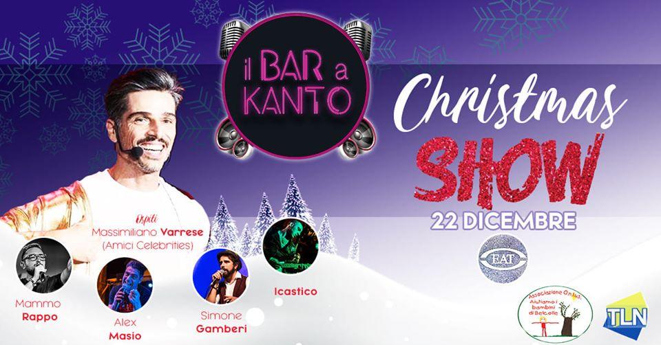 GRANDE SUCCESSO D'ASCOLTI PER  IL BAR A KANTO CHRISTMAS SHOW