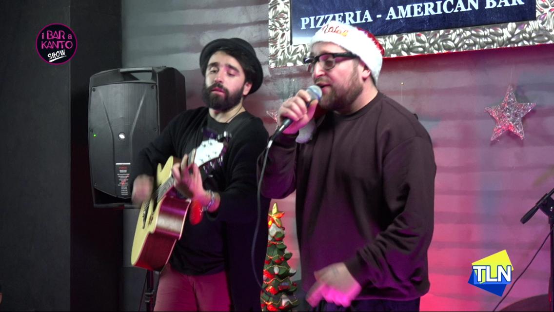 MAMMORAPPO E SIMONE GAMBERI IN ESCLUSIVA AL BAR A KANTO CHRISTMAS SHOW-VIDEO