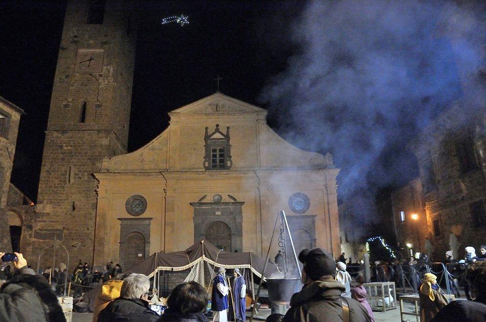 NUMERI DA RECORD PER IL PRESEPE VIVENTE DI BAGNOREGIO