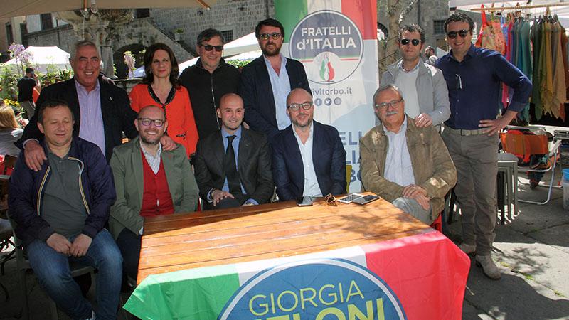 FRATELLI D'ITALIA, IL GRUPPO CONSILIARE DI VITERBO RINGRAZIA PAOLO BIANCHINI PER IL LAVORO SVOLTO