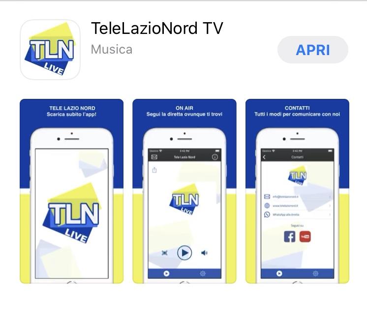 ARRIVA LA NUOVA APP DI TELELAZIONORD, PER SEGUIRLA DOVUNQUE SEI SU IPHONE E ANDROID