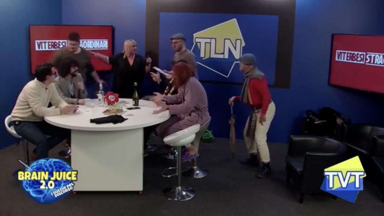NUOVO RECORD DI ASCOLTI PER LA TERZA PUNTATA DI BRAIN JUICE SU TLN