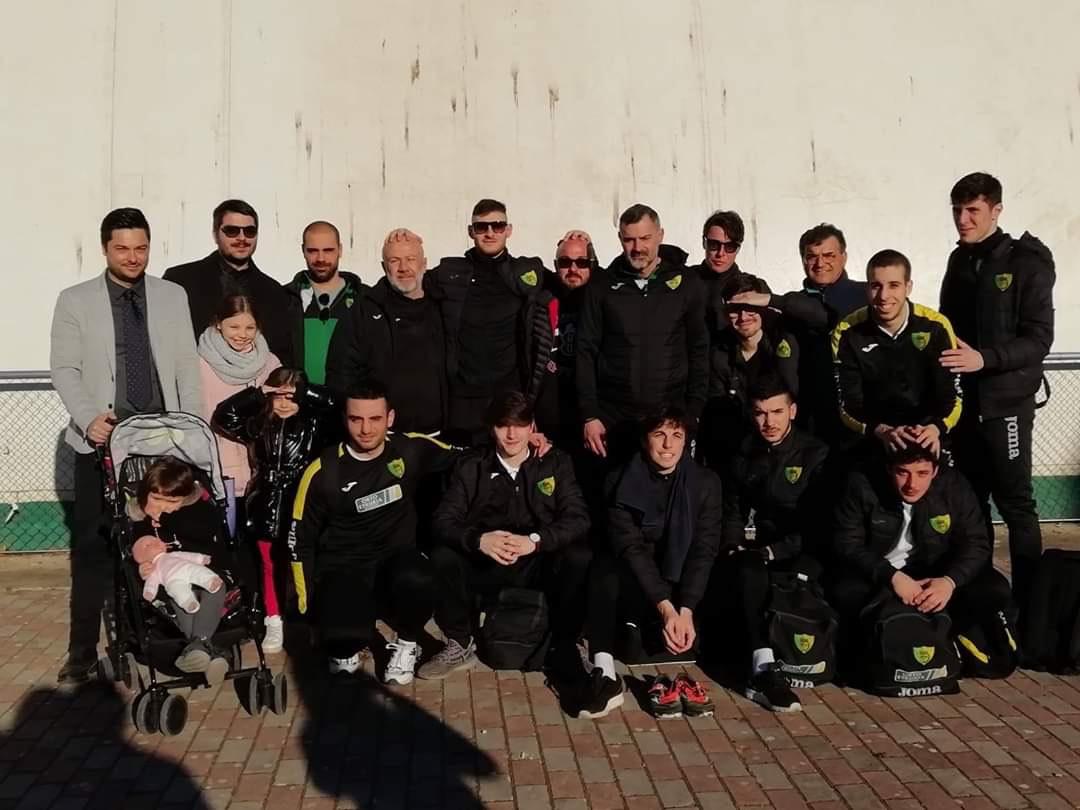 IL CARBOGNANO/ORTOETRURIA CALCIO A 5 BATTE L'ASNAGORA CAGLIARI 5-4
