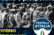AL VIA LE RIUNIONI DEL DIPARTIMENTO IMMIGRAZIONE DI FRATELLI D'ITALIA