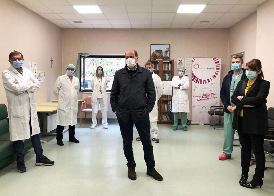 """CORONAVIRUS, ASL VITERBO: """"167  UNITÀ DI PERSONALE RECLUTATE IN QUARANTA GIORNI"""""""
