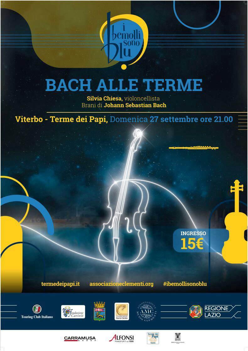 """Il Festival """"I Bemolli sono blu & Viterbo in Musica"""" inizia domani alle Terme dei Papi"""