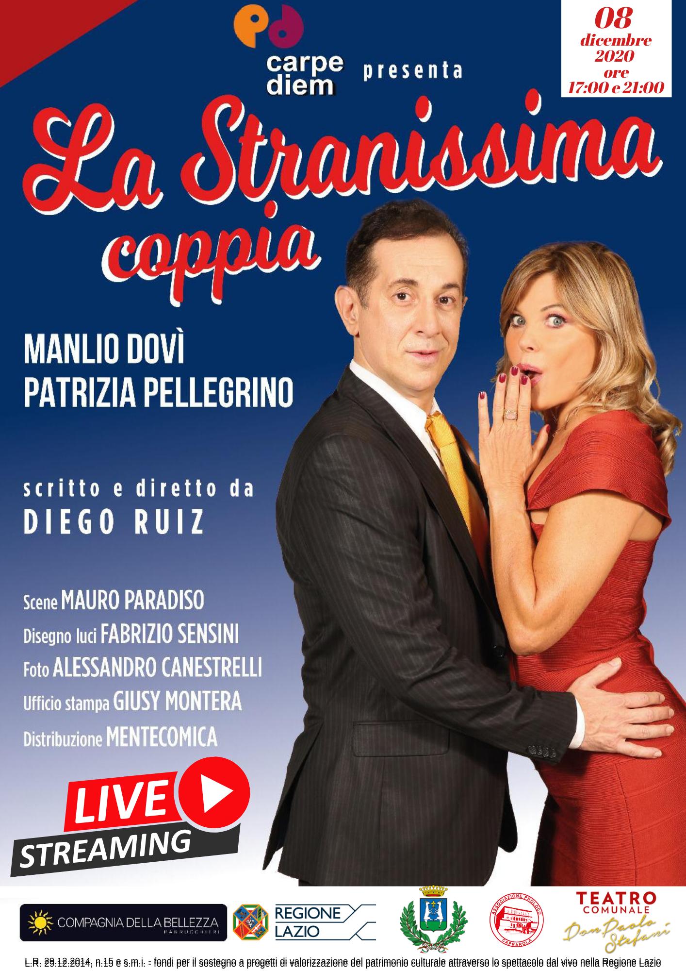 A CAPRAROLA IL TEATRO DON PAOLO STEFANI VA IN STREAMING CON