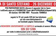 ECCO COME PRENDERE LE CARTELLE DELLA TOMBOLA DI SANTO STEFANO DI TELELAZIONORD!