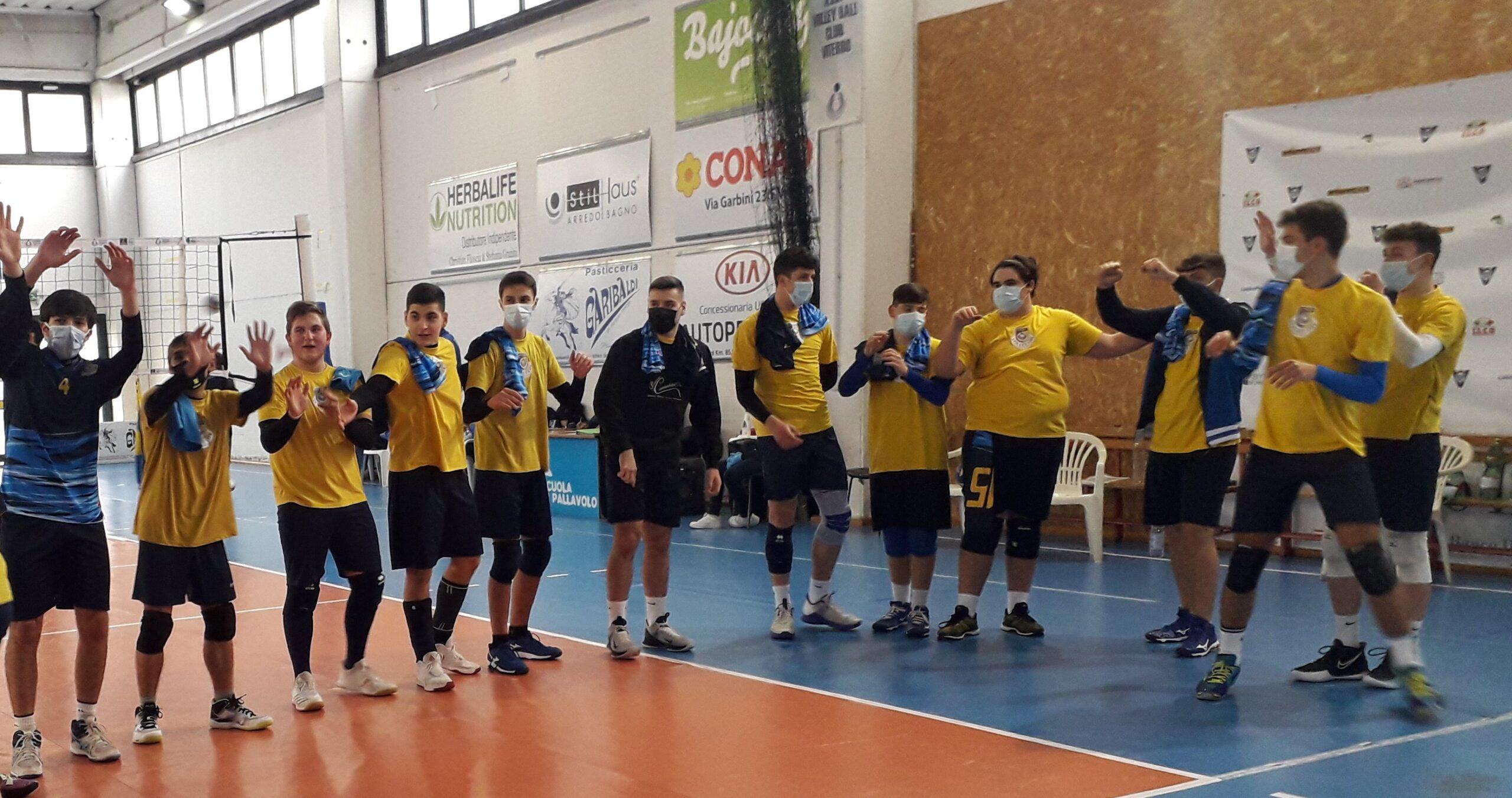 NUOVA VITTORIA PER LA U19 DELLA VOLLEY LIFE VITERBO