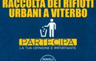 FRATELLI D'ITALIA LANCIA IL SONDAGGIO SU VITERBOAMBIENTE