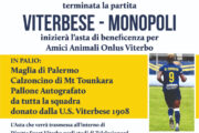 DOMENICA 7 MARZO DALLE 12 IL VIA DELL'ASTA DI BENEFICENZA DELLA VITERBESE, PER IL CANILE DI VITERBO