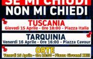 FRATELLI D'ITALIA MANIFESTA A ORTE, TARQUINIA  E TUSCANIA CON