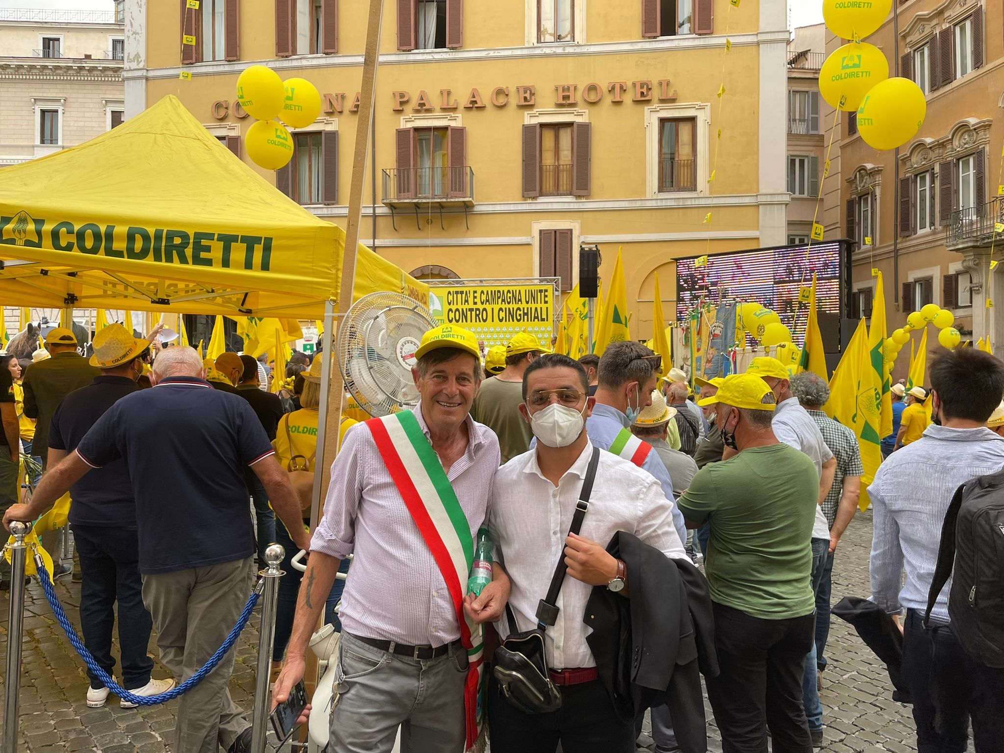 FRATELLI D'ITALIA VICINO A COLDIRETTI CONTRO I DANNI DA CINGHIALE