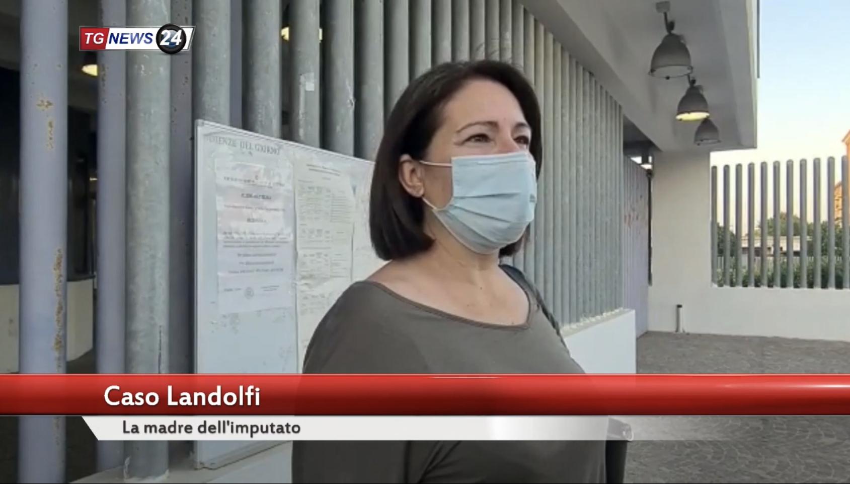video- LE PAROLE DELLA MAMMA DI  ANDREA LANDOLFI DOPO L'ASSOLUZIONE